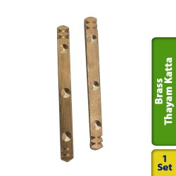 Brass Dice Solid Thayam Katta Medium