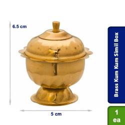 Brass Kum Kum Simil Box