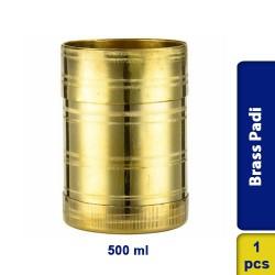 Brass Padi / Rice Grains Measuring Pot 500ml