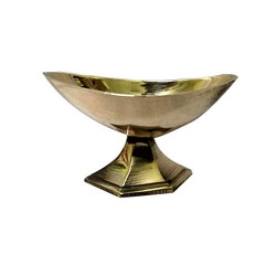 Brass Sandal Viboothi Kumkum Bowl Model 3