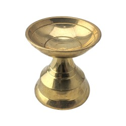 Brass Sandal Viboothi Kumkum Bowl Model 4