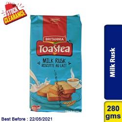 Britannia Milk Rusk 280g Clearance Sale