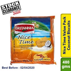 Britannia Nice Time Value Pack Clearance Sale