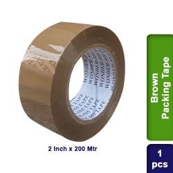 Brown Self Adhesive Packing Packaging Tape 2 inch 200m
