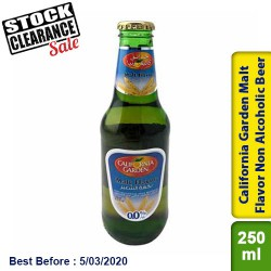 California Garden Malt Flavor Non Alcoholic Beer-Clearance Sale