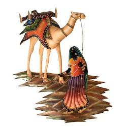 Camel Lady, 26 X 20 Inch