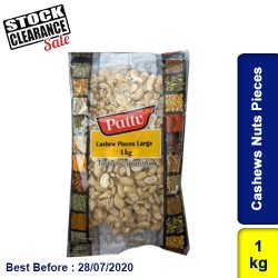Cashews Nuts Pieces 1kg Clearance Sale