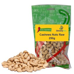 Cashews Nuts Raw 250g M&J