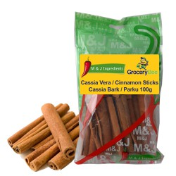 Cassia Vera / Cinnamon Sticks / Cassia Bark / Parku M&J