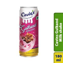 Cavins Gulkand Milk Shake Soft Drinks 180ml