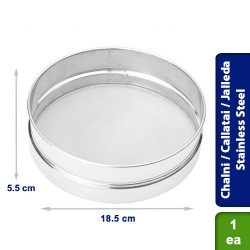 Chalni / Callatai / Jalleda for Strining Maida Flour Stainless Steel