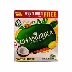 Chandrika Ayurveda Soap 4 in 1