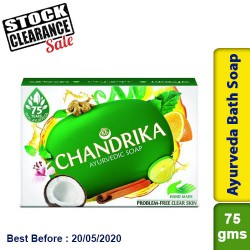 Chandrika Ayurveda Soap Clearance Sale