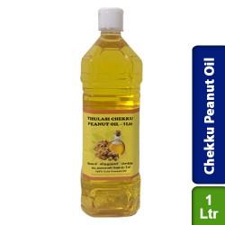 Chekku Peanut Groundnut Oil Thulasi