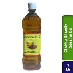 Chekku cold pressed Gingelly Sesame Oil 1L Thulasi