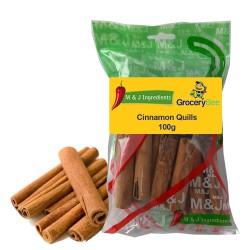Cinnamon Quills 100g M&J