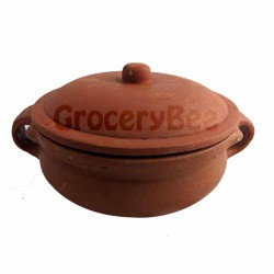 Clay Cooking Pot With Lid (3ltr)