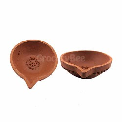 Clay Diya 80mm