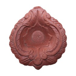 Clay Diya Plain Large M2