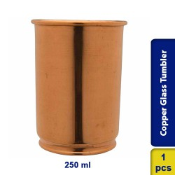 Copper Glass Tumbler Cup Drinkware 250ml