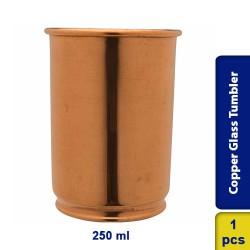 Copper Glass Tumbler Cup Drinkware 250ml