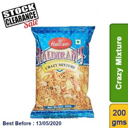 Crazy Mix Haldirams 200g Clearance Sale