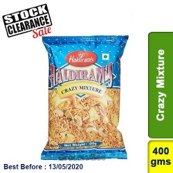 Crazy Mix Haldirams 400g Clearance Sale