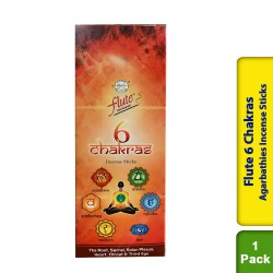 Cycle Flute 6 Chakras Agarbathies Incense Sticks