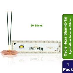 Cycle Hexa Shan-E-Taj Agarbathies Incense Sticks