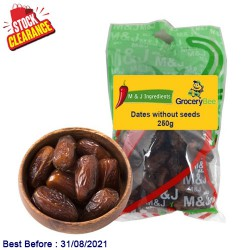 Dates without seeds 250g Clearance Sale