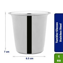 Drinkware Tumbler Glasses Stainless Steel 150ml