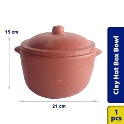 Cooking Pot Satti Hot Box Bowl Multi Purpose Earthern Clay