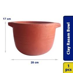 Earthen Clay Multi Purpose Cookin Pot Rasam Bowl
