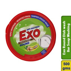 Exo Round Dish wash Bar Soap Washing