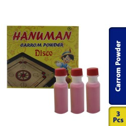 Extra Smooth Professional Carrom Board Powder 3 Pcs