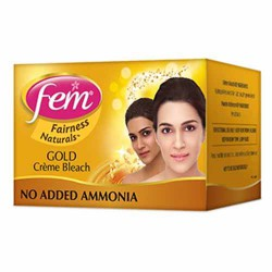 Fem Gold Fairnes Face Cream Bleach