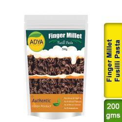 Finger Millet Fusilli Pasta / Ragi Nachni Kezhvaragu