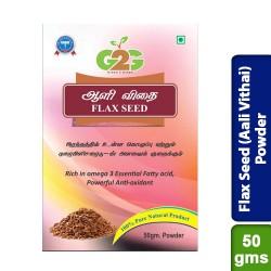 Flax Seed (Aali Vithai) Powder