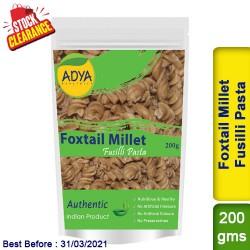Foxtail Millet Fusilli Pasta / Kang Tenai Thinai Korra Clearance Sale