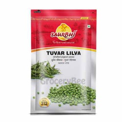 Frozen Tuvar Liva Pigeon Peas Vegetable Saurbhi