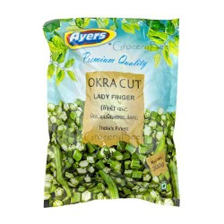 Frozen Cut Okra Lady Finger