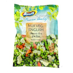 Frozen Mix Veg English