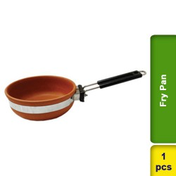 Fry Pan Small Earthen Clay