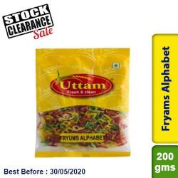 Fryams Alphabet Uttam 200g Clearance Sale