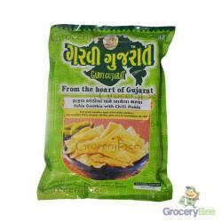 Ganthia with Chilli Pickle