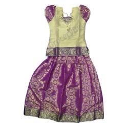 Girls Ethnic Wear Purple