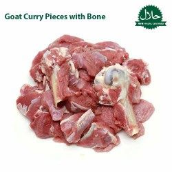 Goat Curry Pieces with Bone 500g