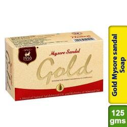 Gold Mysore sandal Soap 125g