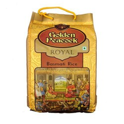 Golden Peacock Royal Basmati Rice