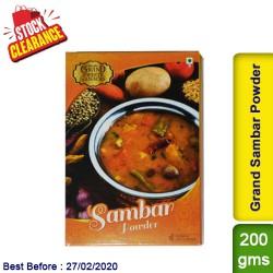 Grand Sambar Powder Clearance Sale